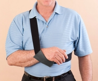 DYNAMIC-ARM-SLING� - Unmatched Comfort and Support. Applied and Removed Instantly Using Only the Healthy Arm. Guaranteed.